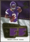 2008 Upper Deck SP Rookie Threads Flashback Fabrics 175-200 #FFTJ Tarvaris Jackson /200