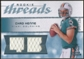 2008 Upper Deck SP Rookie Threads Rookie Threads 125 #RTCH Chad Henne /125