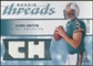 2008 Upper Deck SP Rookie Threads Rookie Threads #RTCH Chad Henne /199