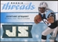 2008 Upper Deck SP Rookie Threads Rookie Threads 199 #RTJS Jonathan Stewart /199