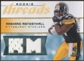 2008 Upper Deck SP Rookie Threads Rookie Threads 199 #RTRM Rashard Mendenhall /199