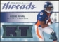 2008 Upper Deck SP Rookie Threads Rookie Threads 250 #RTER Eddie Royal /250