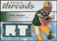 2008 Upper Deck SP Rookie Threads Rookie Threads #RTJN Jordy Nelson /250