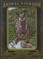 2011 Upper Deck Goodwin Champions #AK14 Swamp Wallaby Animal Kingdom Patch