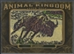 2011 Upper Deck Goodwin Champions #AK39 Wildebeest Animal Kingdom Patch