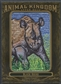 2011 Upper Deck Goodwin Champions #AK92 Black Rhino Animal Kingdom Patch