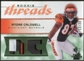 2008 Upper Deck SP Rookie Threads Rookie Threads Patch #RTAC Andre Caldwell /25