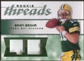 2008 Upper Deck SP Rookie Threads Rookie Threads Patch 75 #RTBB Brian Brohm /75