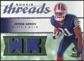 2008 Upper Deck SP Rookie Threads Rookie Threads Patch 75 #RTJH James Hardy /75