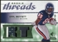 2008 Upper Deck SP Rookie Threads Rookie Threads Patch 99 #RTEB Earl Bennett /99