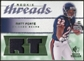 2008 Upper Deck SP Rookie Threads Rookie Threads Patch #RTFO Matt Forte /99