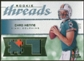 2008 Upper Deck SP Rookie Threads Rookie Threads Patch Jersey Number #RTCH Chad Henne 1/7