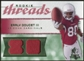 2008 Upper Deck SP Rookie Threads Patch Jersey Number #RTED Early Doucet /80