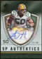 2008 Upper Deck SP Rookie Threads SP Authentics #SPAH A.J. Hawk Autograph /60