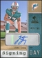 2008 Upper Deck SP Rookie Threads Signing Day #SDJL Jake Long Autograph /180