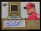 2009 Upper Deck Ballpark Collection Jersey Autographs #BW Brandon Webb Autograph