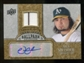 2009 Upper Deck Ballpark Collection Jersey Autographs #NS Nick Swisher Autograph