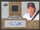 2009 Upper Deck Ballpark Collection Jersey Autographs #TH Travis Hafner Autograph