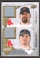 2009 Upper Deck Ballpark Collection #153 Kevin Youkilis Jonathan Papelbon /300