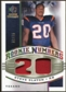 2008 Upper Deck SP Rookie Threads Rookie Numbers Holofoil Patch 75 #RNSS Steve Slaton /75