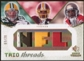 2008 Upper Deck SP Rookie Threads Trio Threads Patch 20 #TTJNT Jordy Nelson/Devin Thomas/Dexter Jackson 9/20