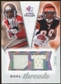 2008 Upper Deck SP Rookie Threads Dual Threads/50 #DTSJ Dexter Jackson Jerome Simpson /50