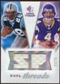 2008 Upper Deck SP Rookie Threads Dual Threads 75 #DTJJ Jonathan Stewart/John David Booty /75