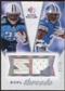 2008 Upper Deck SP Rookie Threads Dual Threads #DTJS Chris Johnson Kevin Smith /75