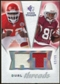 2008 Upper Deck SP Rookie Threads Dual Threads/99 #DTDD Glenn Dorsey Early Doucet /99
