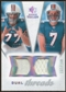 2008 Upper Deck SP Rookie Threads Dual Threads/160 #DTCM Jake Long Chad Henne /160
