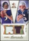 2008 Upper Deck SP Rookie Threads Dual Threads Patch #DTFO Joe Flacco Kevin O'Connell /35