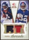 2008 Upper Deck SP Rookie Threads Dual Threads Patch #DTMR Eddie Royal Mario Manningham /35