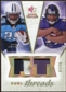 2008 Upper Deck SP Rookie Threads Dual Threads Patch/35 #DTRJ Chris Johnson Ray Rice /35