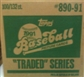 1991 Topps Traded & Rookies Baseball Factory 100 Set Case