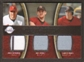 2008 Upper Deck Sweet Spot Swatches Triple #TBOP Lance Berkman Roy Oswalt Hunter Pence