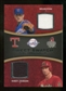 2008 Upper Deck Sweet Spot Swatches Dual #DJR Nolan Ryan Randy Johnson