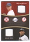 2008 Upper Deck Sweet Spot Swatches Dual #DRP Jonathan Papelbon Mariano Rivera