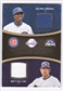 2008 Upper Deck Sweet Spot Swatches Dual #DSH Alfonso Soriano Matt Holliday