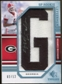 2009 Upper Deck SP Threads Rookie Lettermen College Autographs #201 Mohamed Massaquoi* Autograph /84
