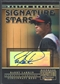 2005 Donruss Signature #14 Barry Larkin Signature Stars Master Series Auto #07/25