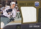 2009/10 Upper Deck Be A Player Rookie Jerseys Autographs #RJCF Cody Franson Autograph /50