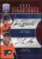 2009 10 Upper Deck Be A Player Signatures Duals #S2BC Daniel Briere Jeff Carter Autograph
