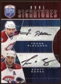 2009 10 Upper Deck Be A Player Signatures Duals #S2GP Scott Gomez Tomas Plekanec Autograph