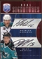 2009/10 Upper Deck Be A Player Signatures Duals #S2MH Patrick Marleau/Dany Heatley Autograph