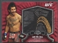 2012 Topps UFC Bloodlines #FJRIM Ian McCall Jumbo Fighter Relics Red #4/8