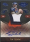 2010 Panini Plates and Patches #19 Tim Tebow Rookie Jumbo Patch Auto #05/25
