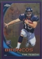 2010 Topps Chrome #C100 Tim Tebow Rookie Purple Refractor #382/555