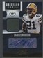 2012 Absolute #14 Charles Woodson Gridiron Force Materials Jersey Auto #02/10
