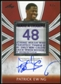 2012/13 Leaf Metal Patrick Ewing Patch Autograph Red #PE2 Patrick Ewing 4/5 Laundry Tag