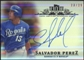 2013 Topps Tribute Autographs Orange #SP3 Salvador Perez Autograph 23/25